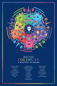 A Head full of Dreams Coldplay poster