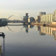 Glasgow looking beautiful in January chill